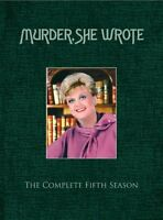 Murder She Wrote Complete 5th Fifth Season 5 Five Brand Dvd Set