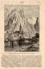 CLAUSEN TYROL ALLEMAGNE PRESS ARTICLE 1867