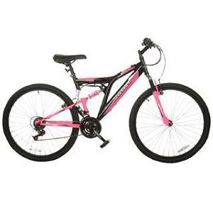 neu mountainbike 26 zoll m dchen fahrrad rad mtb pink 18. Black Bedroom Furniture Sets. Home Design Ideas