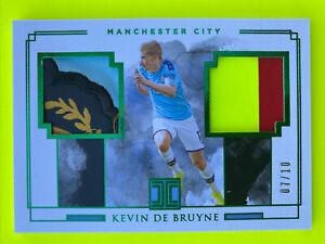 2019-20 Impeccable Kevin De Bruyne SICK Jersey Patch #'d 07/10 Manchester City