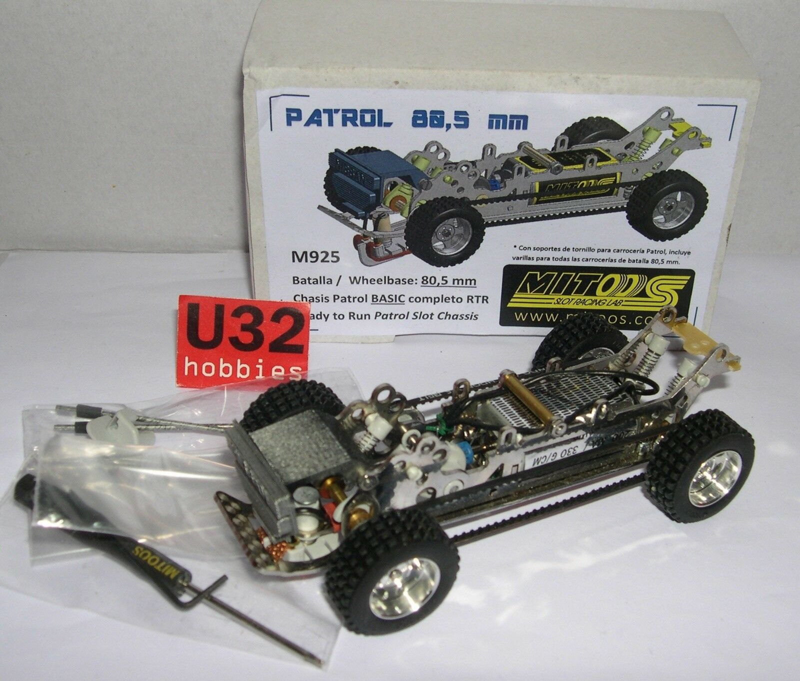MITOOS M925 Chassis RAID PATROL BASIC RTR Schlacht 80.5mm