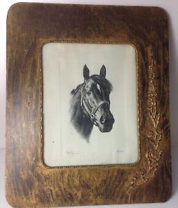 Oak Frame Picture 1959 Kentucky Derby