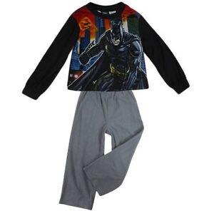Boys-Licensed-Batman-Winter-Pyjamas-Size-6-7