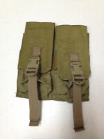 Eagle Industries Double M4 Mag Lightweight Pouch Dbl 2 Mags Per Pch Khaki 9166