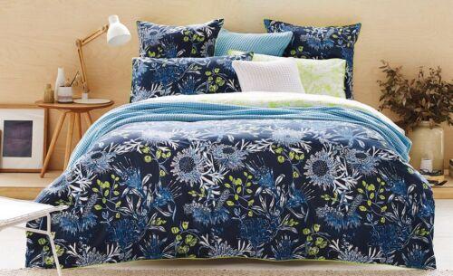 SHERIDAN PATONGA CITRON Double Bed Size Doona Duvet Quilt Cover Set 100/% Cotton