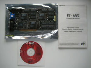 STB-3DFX-Voodoo2-1000-12MB-100MHz-Rev-C-Tested-with-Manual-and-Driver-CD-Taiwan