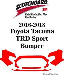 3M Scotchgard Paint Protection Film Pro Series 2016 2017 2018 Toyota Tacoma
