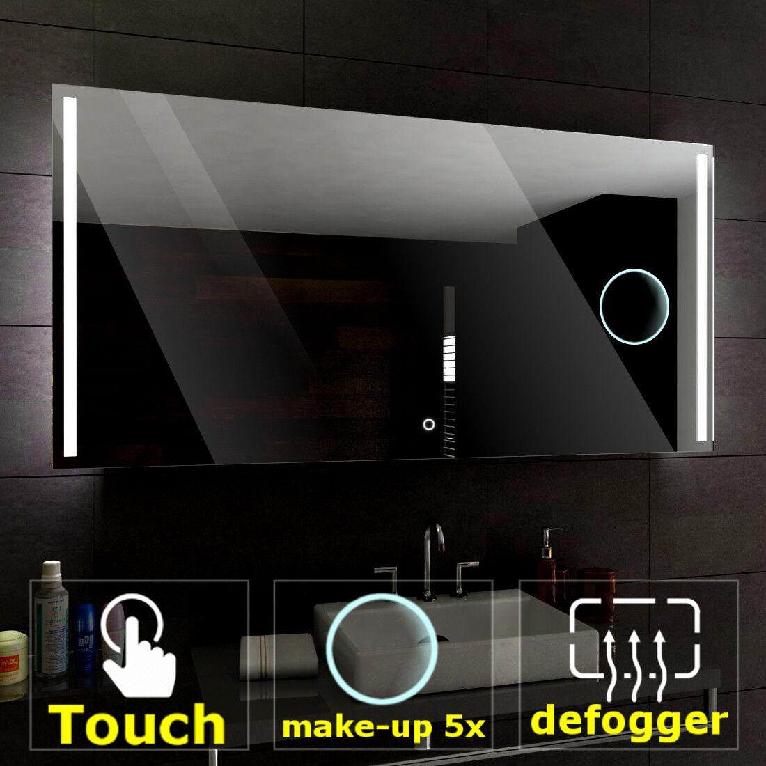Paris éclairé Miroir salle de bain LED interrupteurs maquillage anti ...