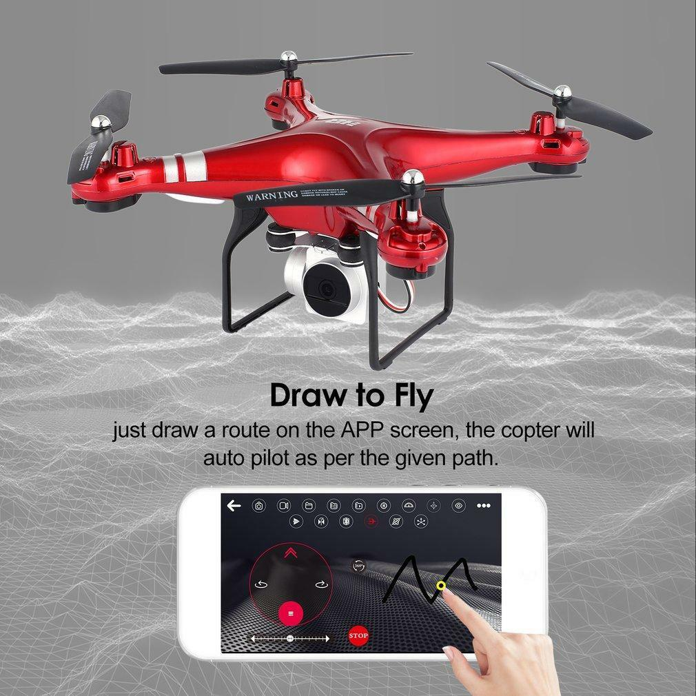 2.4G 6-Axis Gyro Hovering RC Quadcopter Drone with HD HD HD WIFI Camera Drone FPV f320b5