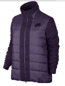 Détails sur Nike Sportswear Nsw Syn remplissage AV15 Femme Veste Manteau Gilet Rembourré Violet Petit afficher le titre d'origine