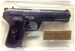 PISTOLA-TOKAREV-TT33-SIGLO-XX-mIniatura-plomo-armas-de-fuego