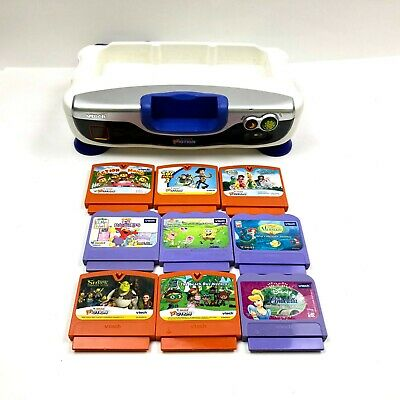 Vtech Vsmile Vmotion Learning Educational Game Console ...