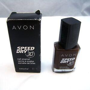 Avon-SPEED-DRY-30-Nail-Enamel-034-EXPRESS-MOCHA-034-12-ml-0-4-oz-NEW-NIB-imp