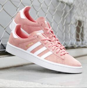 Detalles acerca de Para mujer zapatillas Adidas Originals Campus Rosa  B41939 Nuevo En Caja- mostrar título original