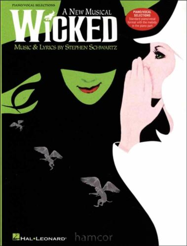 Wicked A New Musical Piano Vocal Music Book