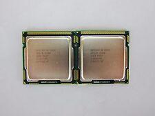 Pair of Intel Xeon X3450 2.66GHz 8MB QC 95W LGA1156 SLBLD