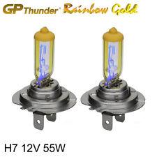 GP Thunder 2500K Rainbow Gold H7 12V 55W Xenon Light Bulbs Pair  (On Sale Now)