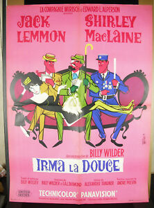 Irma-the-Sweet-Poster-Original-Film-1963-Jan-Mara-Shirley-Maclaine-Jack-Lemmon