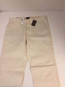 J-Crew-Broken-In-Stretch-Chino-Womens-Pants-Size-W28-L32