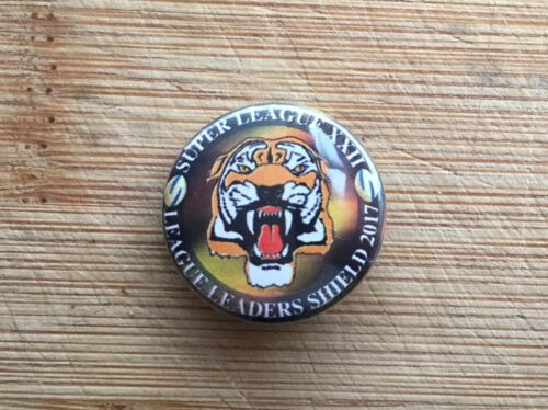 Castleford Tigers-Ligue des Champions-Un Pouce Bouton Badge