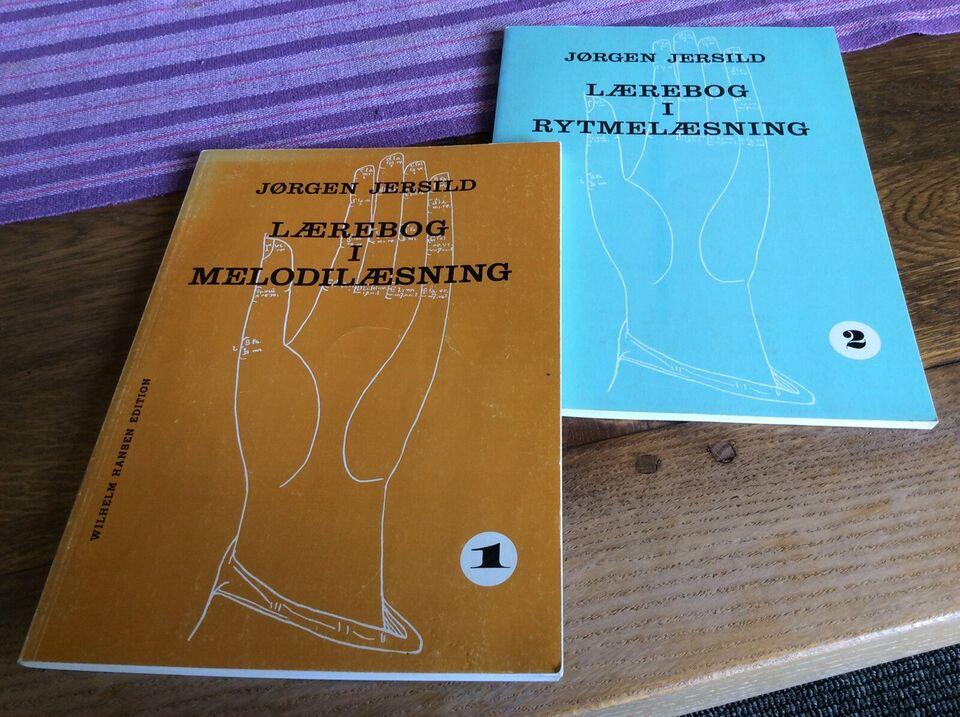 Undervisning, Lærebøger i hhv. melodi- og rytmelæsning