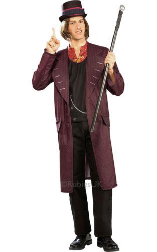 "FANCY DRESS COSTUME ~ MENS CHOCOLATE FACTORY WILLY WONKA 38/""-46/"""