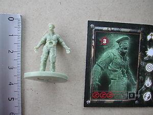 Toxico zombie miniature card//zombie z first impact g69