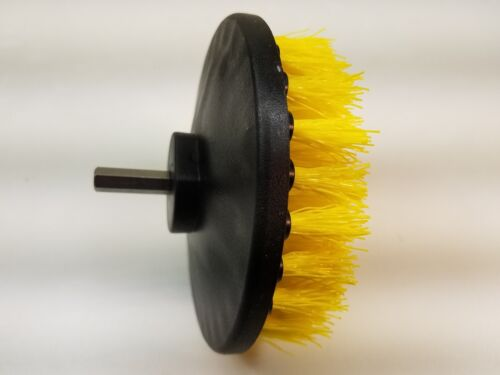 Upholstery Stain Removal 3 x Carpet Brush w// Drill Attachment Floor Cleaning