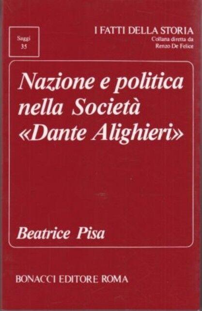 42202 - NAZIONE E POLITICA NELLA SOCIETA' DANTE F38
