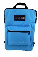 """New JanSport SuperBreak Tablet 15"""" Laptop Sleeve Backpack Bag Swedish Blue"""