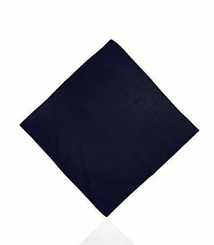 100/% Cotone Tinta Unita Bandana Fascia per capelli Head Wear Collo Sciarpa Polso Avvolgere Banda plbandan