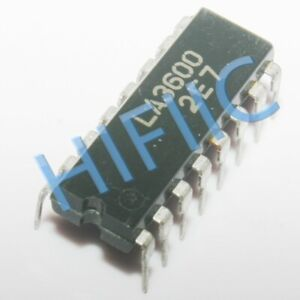 Details about 1PCS/5PCS LA3600 5-Band Graphic Equalizer DIP16