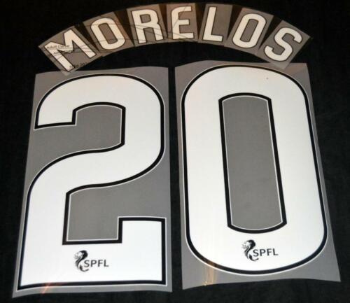 Official Rangers Morelos 20 Football Name//Number Set Home 2019//20 SPL