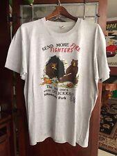 vtg 80s Yellowstone Park Fire Fighter T-Shirt Size XXL Screen Stars