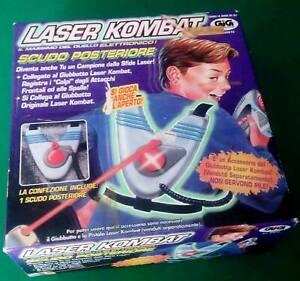 Laser-Kombat-Scudo-posteriore-Raggi-infrarossi-GIG-Vintage-toys-1997
