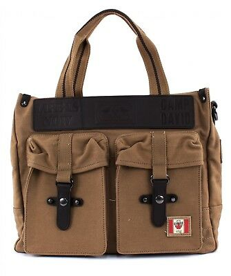 Camp David Borsa A Tracolla Rocky Mountain Shopper Sand Volume Grande