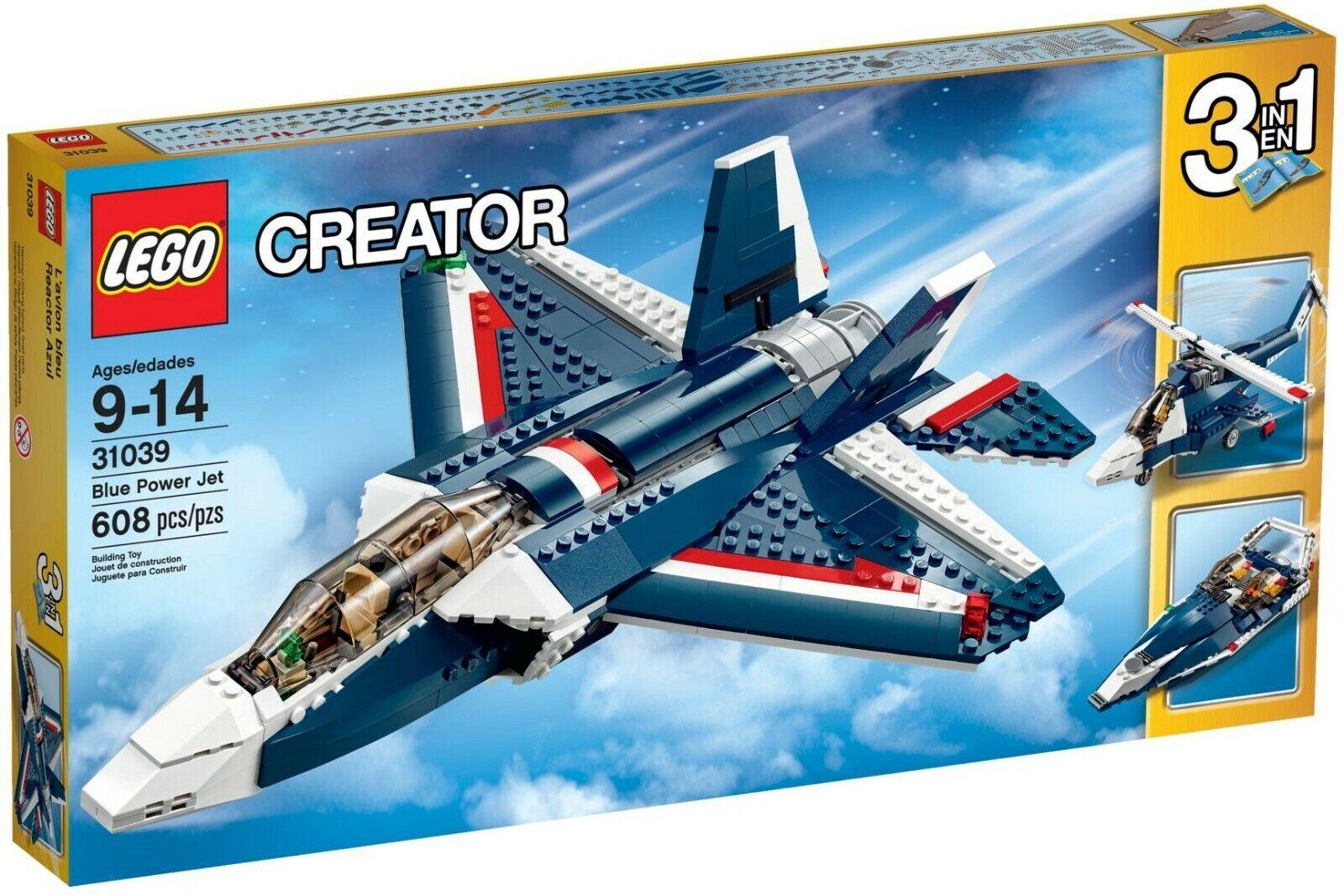 Lego 31039 - Skapare 3 in 1 blå Power Jet (pensionerad )Ny i förseglad ruta