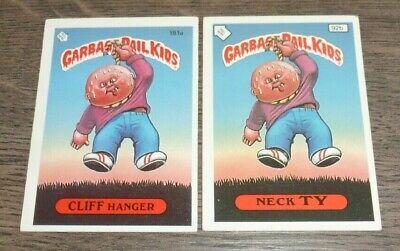 Garbage Pail Kids 1986 #181a Cliff Hanger