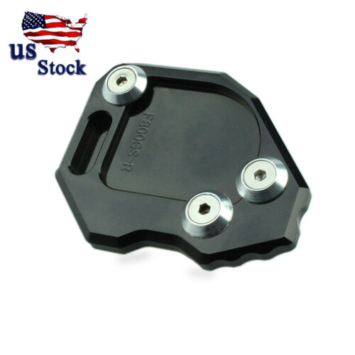 CNC Side Stand Plate Kickstand Extension Pad Enlarger For BMW F800GS 08-14 USA