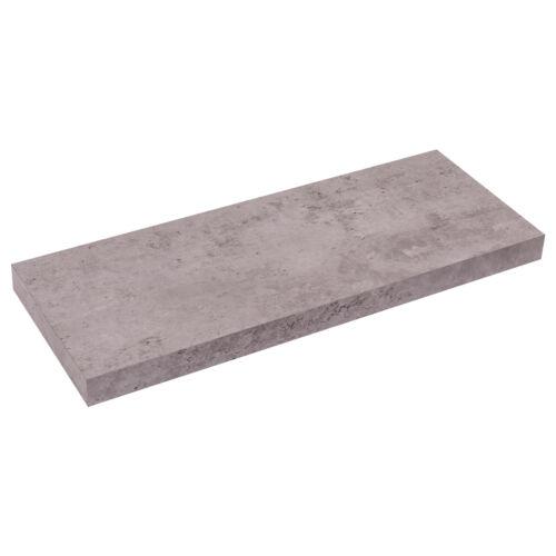 Hängeregal Wandboard Wandregal Schweberegal aus Holz Grau 80cm 0144QJ