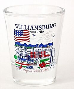 WILLIAMSBURG-VIRGINIA-GREAT-AMERICAN-CITIES-COLLECTION-SHOT-GLASS-SHOTGLASS