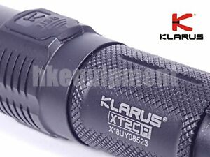 Klarus XT2CR Cree XHP35 HD E4 1600lm USB Rechargeable Flashlight+3600 18650