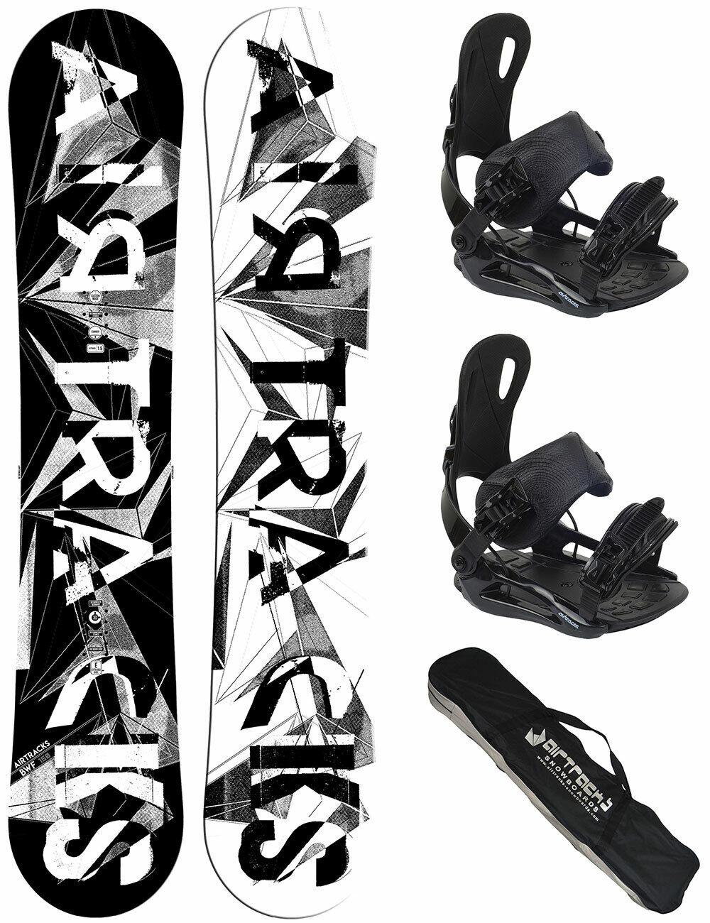 Snowboard Set AIRTRACKS BWF+Bindung Star oder Master+Sb Bag 155 159 161 165 171