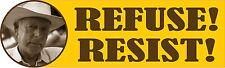 CLIVEN BUNDY REFUSE & RESIST POLITICAL STICKER