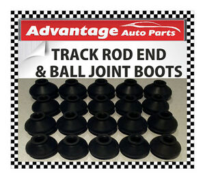 Medium x 2 Jaguar Track Rod End Bar and Ball Joint Dust Cap Cover Boot