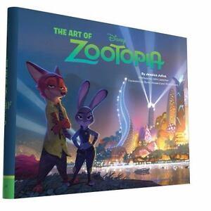 The-Art-of-Zootopia-Hardback-or-Cased-Book