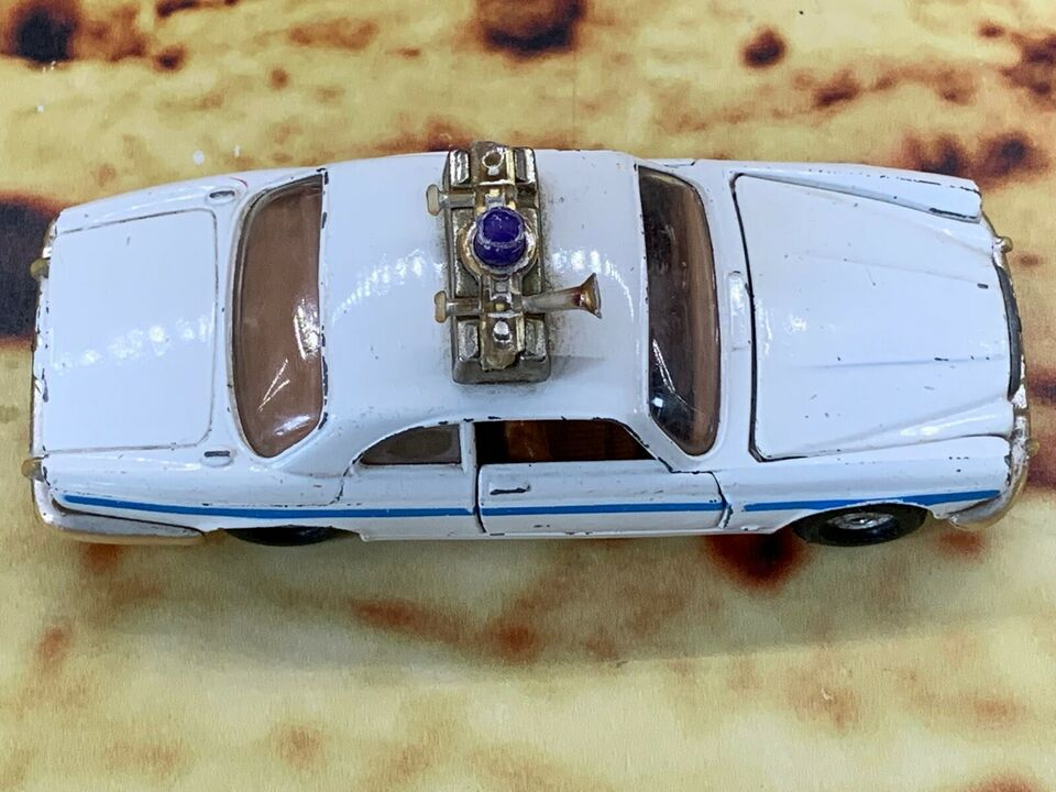 Modelbil, Corgi no 414 Jaguar XJ12C Coastguard, skala 1:42