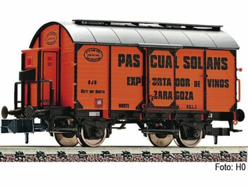 DC Piste N Fleischmann 845704 Tonneau Voiture /'Pascual Solans/' la Norte