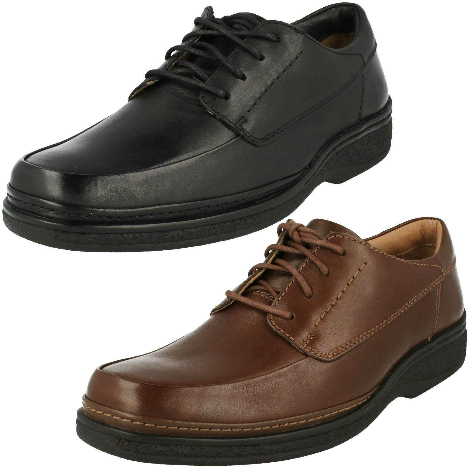 Mens Clarks Stonehill Pace Formal Lace Up Shoes