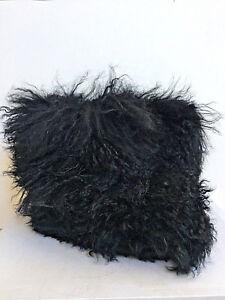 47203f5443d Details about UGG CLASSIC FLUFF MOMMA MONGOLIAN BLACK SHEEPSKIN CUFF BOOT  US 7 /EU 38 /UK 5.5